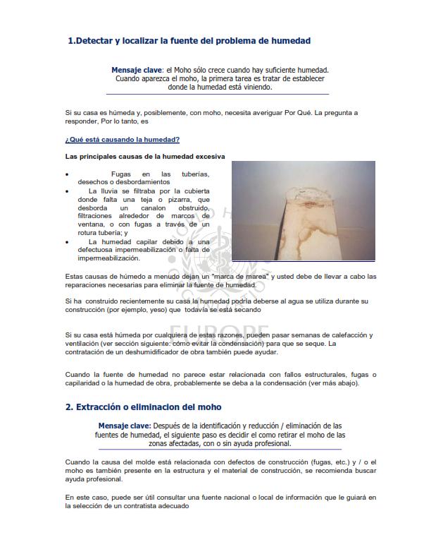 OMS;CALIDAD AMBIENTAL DEL AIRE INTERIOR;  HUMEDAD Y MOHO SOLO ESPAÑOL_004