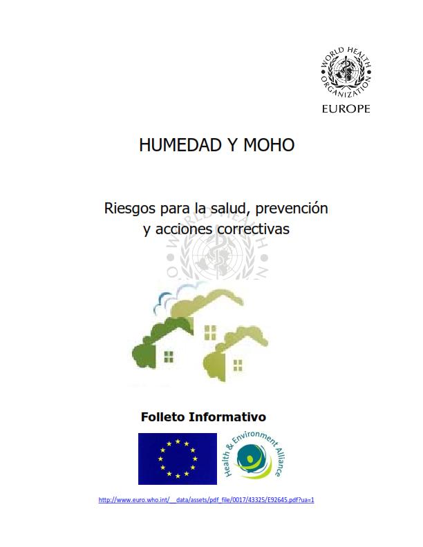 OMS;CALIDAD AMBIENTAL DEL AIRE INTERIOR;  HUMEDAD Y MOHO SOLO ESPAÑOL_001